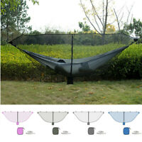 Outdoor Camping Hiking Mesh Mosquito Net For Double Hammock Hanging K New ~