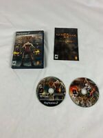 God of War II 2 Sony PlayStation 2 PS2 - 2007 Two Disc Set Complete with Manual