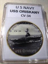 US NAVY - USS ORISKANY CV-34 Challenge Coin