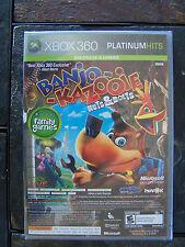 X-BOX 360 BANJO-KAZOOIE & VIVA PINATA (STILL SEALED) ITEM #422-20
