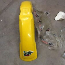 NOS MAIER UNIVERSAL FRONT MOTOCROSS FENDER YELLOW 10060YL