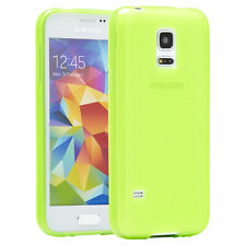 Samsung Galaxy S5 Mini Hülle Case Tasche Schutz Hülle Etui Back Cover Glow Grün