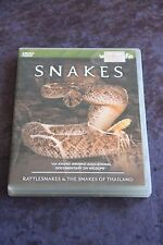 Snakes DVD Rattlesnakes & The Snakes of Thailand region-free