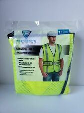 Westchester Protective Gear Construction Vest High Vis Yellow One Size
