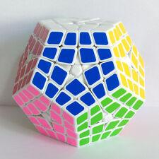 White Shengshou 2-layered Kilominx Polygonal Megaminx Magic Cube Twist Puzzle