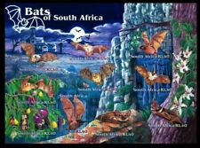 Bats of South Africa mint self-adhesive sheet 10 stamps 2001 #1258