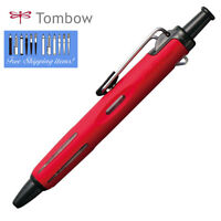 "Tombow AirPress"" RED BC-AP32 Pressurized Ballpoint Pen 0.7mm Outdoor Busines"