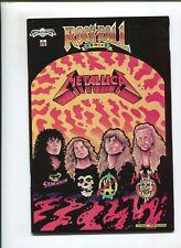 ROCK N ROLL COMICS #2 (NM-) METALLICA! 1989