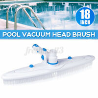 Swimming Pool Spa-Suction Vacuum Head Cleaning Nylon Bristles Brush Cleaner