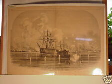 Print,Civil War,Bombardment & Capture Forts,Walker,S.C.