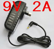 AC 100-240V Converter Adapter DC 9V 2A 18W Power Supply 2000mA AU 4.0mm x 1.7mm