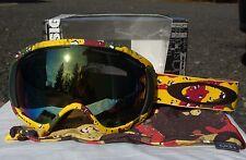 2014 NIB OAKLEY CANOPY TANNER HALL SKI / SNOWBOARD GOGGLES EMERALD IRIDIUM $180