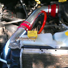 RED 2002-2010 DODGE RAM 1500 3.7 3.7L 4.7 4.7L V8 COLD AIR INTAKE KIT SYSTEMS