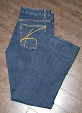Michael Kors Womens Size 32x29 Medium Wash Straight Leg Jeans
