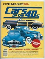 November 1981 Consumer Guide Cars of the 40s Classic Car Series Magazine