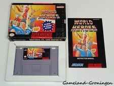 Super Nintendo / SNES Game: World Heroes [NTSC] (Complete) [USA]