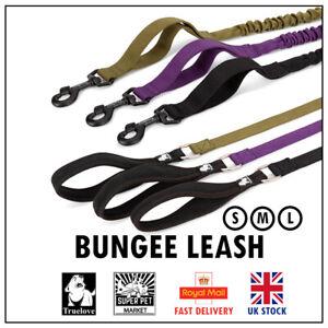 Bungee Dog Lead Truelove Stretchy True love Lead NoPull Anti Shock Running Leash