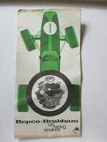 Vintage Repco-Brabham V8 Racing Story Film Racing Engines Pamphlet Advertising