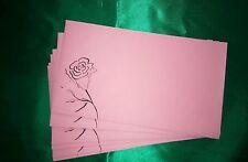 Envelopes Coloured C6 & DL, Flower Premium 80gsm, Free Postage