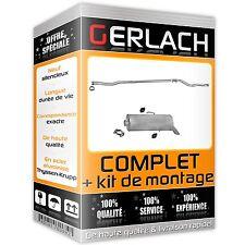 Pour Citroen Saxo / Peugeot 106 1.1 1.4 2000-2004 echappement silencieux 245