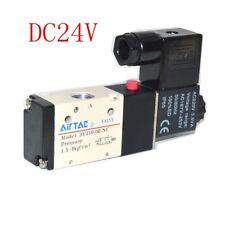 "Pneumatic Solenoid Valve AIRTAC Type 3V210-08 3 Way 2 Position 1/4"" DC24V 1PC"