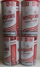 4x SIGARETTE TABACCO Westpoint volume tabacco 90g = 360g NUOVO OVP età á PREZZO € 12,95