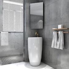 Bathroom Mirror Cabinet Vanity Shaving Storage Cupboard Wall Hung 350x670mm