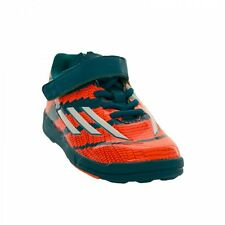Boys adidas Infant Boys Messi Trainers in green and orange
