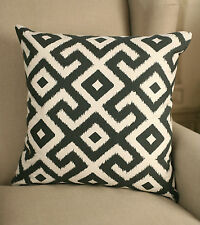 2 x Cushion Covers Decorator 45x45cms - 'Contemporary Inca' Throw Pillow Covers