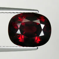 5.67 ct TOP LUSTROUS - DEEP ORANGE RED 100% NATURAL SPESSARTITE GARNET _ 3667