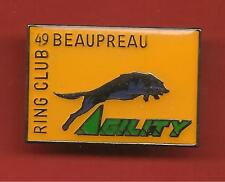 Pin's pin CHIEN AGILITY RING CLUB DE BEAUPREAU 49 DRESSAGE (ref CL08)