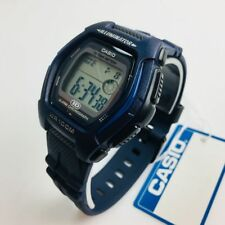 Men's Casio G-Shock Blue Silicone Digital 43 mm Watch HDD600C-2AV