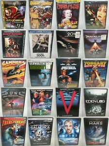 DVD Movies [MULTI-LISTING] Collections Sci-Fi Gore Action Comedy Horror Space