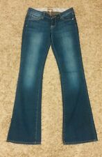 Paige Premium Jeans Canyon Boot Stretch designer Sz 25 Ins: 32.5 in. Waist: 31""