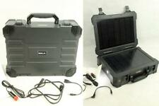 SOLA All-In-One Portable Solar Power Charger Station Pack Briefcase 120V 20W