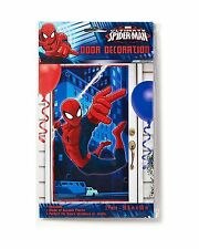 Marvel Ultimate Spider-Man Birthday Party Door Cover Decoration Party Supplies