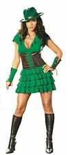 SPECIAL BARGAIN  Ladies fancy dress green robin hood costume Size 10-12
