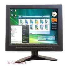 "8"" Native Resolution 1024x768 HD Display BNC RCA AV Video VGA TFT LED Monitor UA"