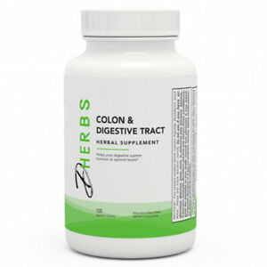 Dherbs Colon & Digestive Tract, 100-Count Bottle