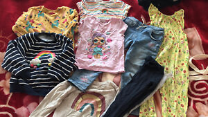 girls clothes 4-5 years bundle next
