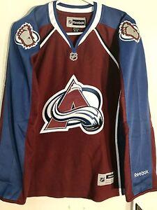 Reebok Women's Premier NHL Jersey Colorado Avalanche Team Burgundy Alt sz M