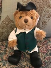 "NEW 13"" Paul Revere Collectible History STUFFED PLUSH TEDDY BEAR ASI 62960 #Q9"