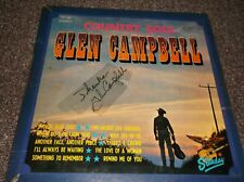 Glen Campbell (1936-2017) Country Soul Starday LP  signed autograph
