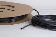 GUAINA TERMORESTRINGENTE TERMORETRAIBILE NERA 2.4mm restringe a 1.2mm 150 METRI
