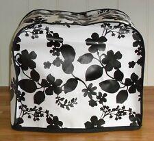 Black Floral Vinyl Dust Cover for KENWOOD PROSPERO Food Mixers
