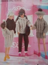 KNITTING PATTERN for Sindy and 11 inch  Dolls cloths 4627