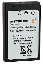 Mitsuru® 1600mAh Akku für Olympus PS-BLS1 PSBLS1