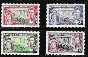 Southern Rhodesia .. 1937 Coronation .. Full Set .. Mint(MNH) .. 6946