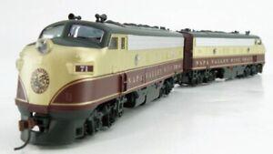 ATHEARN 8500 F7A-F7A SET NAPA VALLEY RR 71 72