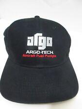 ARGO ARGO-TECH AIRCRAFT FUEL PUMPS LOGO BLACK BASIC DAD CAP/HAT SNAPBACK